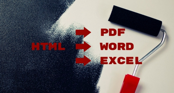 Convert HTML Files Into Word, Excel & PDF Docs With PHP » Solarise